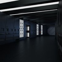 Modular Death Star Corridor