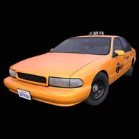 Generic 1990s American Taxi