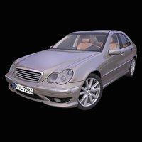 generic german sedan 3D