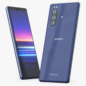 sony xperia 5 blue model