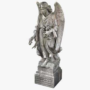 angel statue 3D model