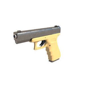 3D glock glock17 model