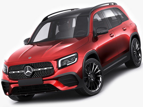 3D mercedes benz glb
