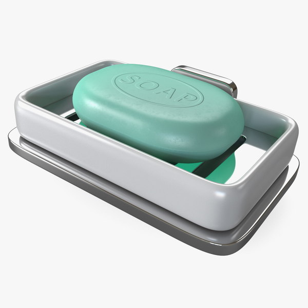 wall-mount soap dish 3D model
