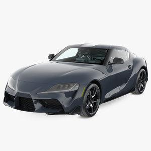 3D model sport car 2019 generic