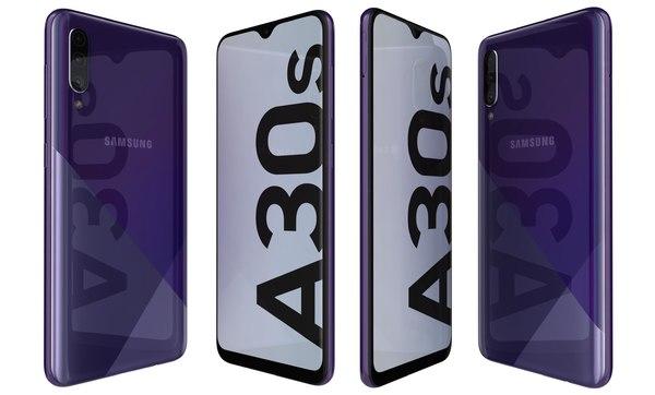samsung galaxy a30s prism 3D