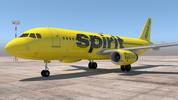 3D a320 320 airlines