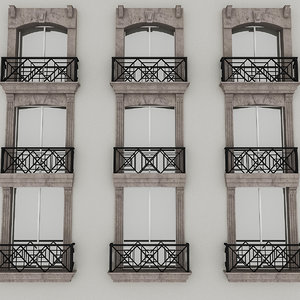 window frame 3D