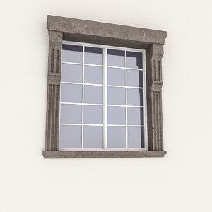 window frame model