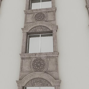 window frame 3D model