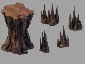 dragon forbidden - stone 3D model