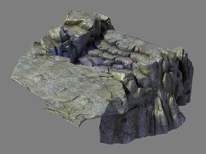 nagisen grassland - cave 3D