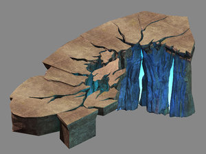 3D mountain - broken 01