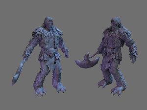 3D tomb - pick axe model