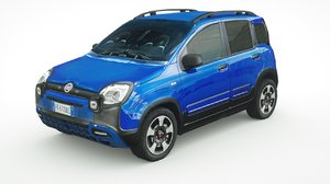fiat panda city cross 3D model