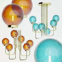pagani giopagani chandelier 3D