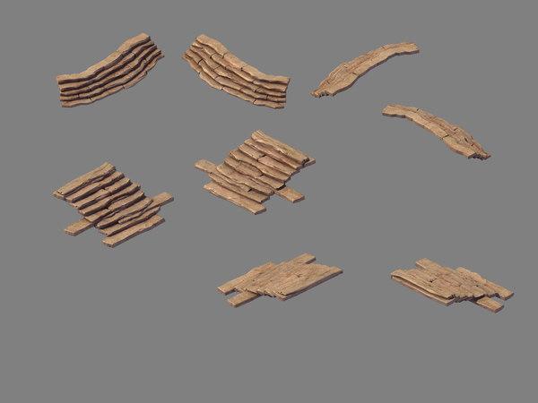 3D blood festival canyon - model