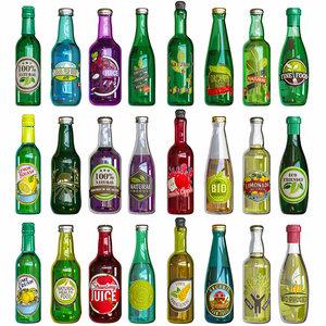 bottle store 3D