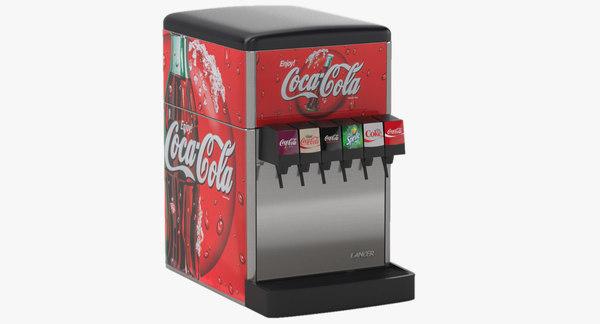 3D 6-flavor counter electric soda