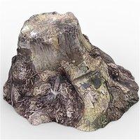 tree stump 8 3D