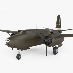 douglas a-20 20 3D model