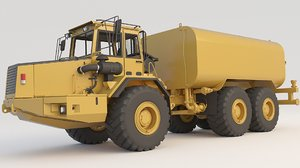 dump truck articulated a30c 3D
