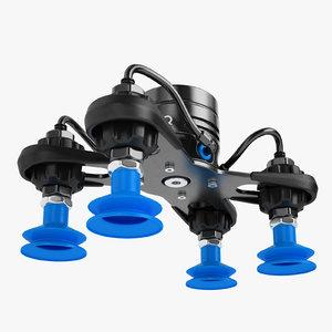 robotiq epick vacuum 3D model