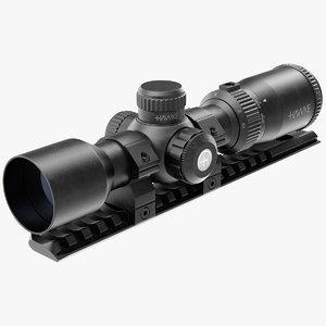 3D crossbow scope