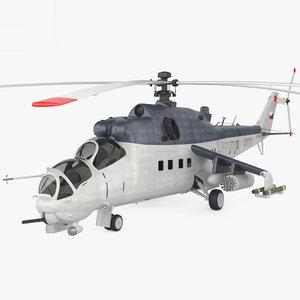 mil mi-35 mi 3D model