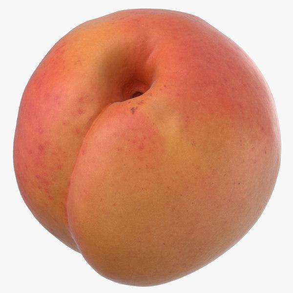 apricot small 3D model