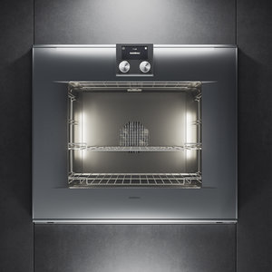 3D gaggenau oven bo480112 kitchen appliance