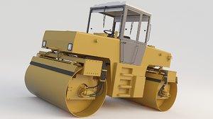 road rollers stavostroj 1 3D model