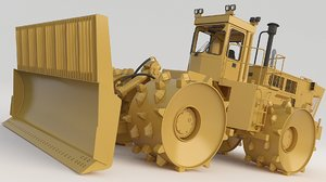 road rollers compactor 3D