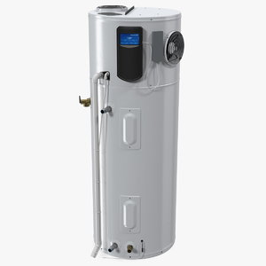 3D hybrid electric water heater