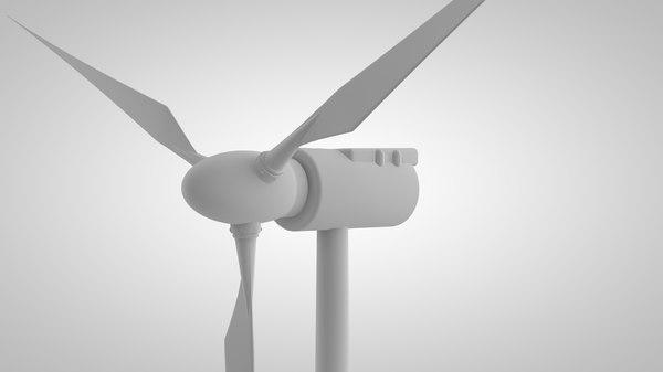 3D wind generator model