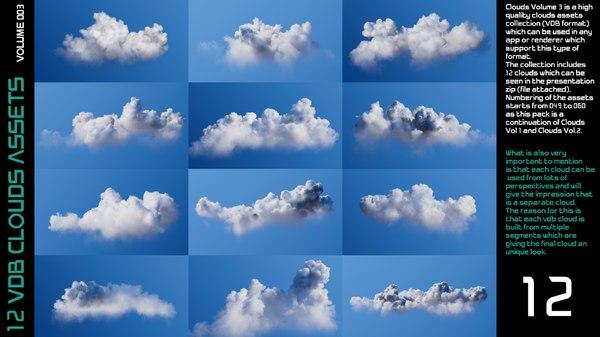 3D clouds volume 3 -