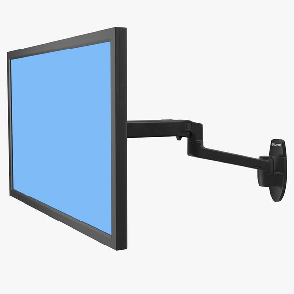 ergotron lx wall mount 3D model
