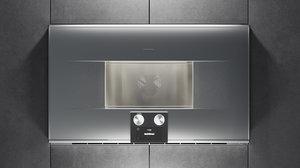3D gaggenau oven bm484110 kitchen appliance