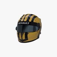 3D hulkenberg 2019 helmet