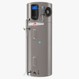 rheem hybrid electric water heater model