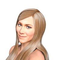 Jennifer Aniston 3d model full rigged
