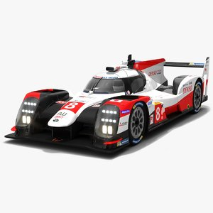 toyota gazoo racing ts050 3D model