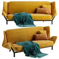 3D clam sofa
