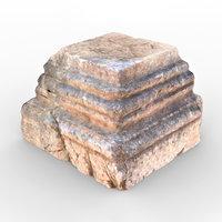 3D patara stone 2 model