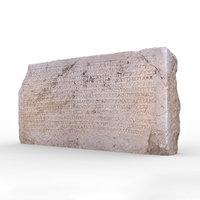 patara stone 1 model