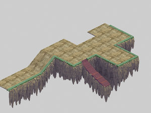 3D jade edge - stone model