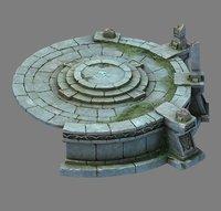leprechaun forest - shitai 3D model