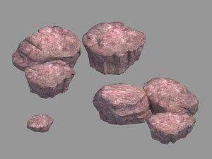 yunmengze - stone 21 3D model