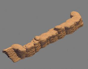 3D field - stone 63 model