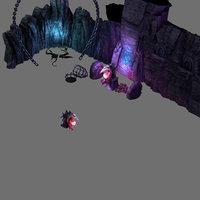 3D chamber secrets - wall stone model